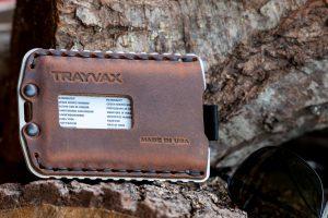 Trayvax Ascent portemonnee pasjeshouder creditcardhouder RFID