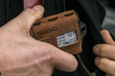 Trayvax pasjeshouder - creditcardhouder - portemonnee outdoor wallet Trayvax.